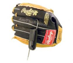 Alpha Adjustable CableLok protecting baseball glove