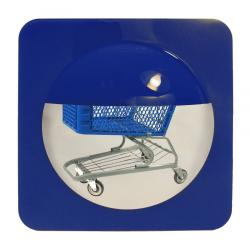 Bottom of the Basket Mirror Blue