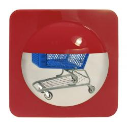 Bottom of the Basket Mirror Red
