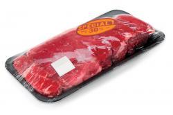 EAS labels help deter theft of expensive meats. AmTheft.com