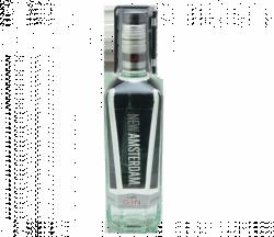 Alpha Versa Guard on bottle of gin. AmTheft.com