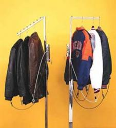 Complete kit to protect coats from theft