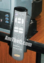 recoiler caddy to help secure remote controls