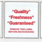 Checkpoint 2010 Meat Label Quality Freshness Guaranteed