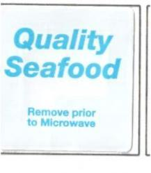 Checkpoint 2010 Seafood Label