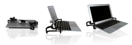 The Compucage TS provides portable security for laptops on the go.