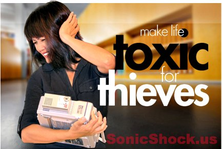 Sonic Shock Alarms at www.SonicShock.us